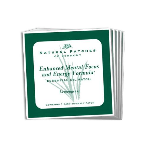 Natural Patches Of Vermont Mental Focus And Energy Formula Essential