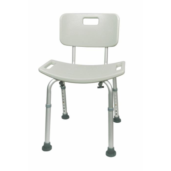 Mckesson Aluminum Bath Bench With Removable Back   Shower Chairs/Benches