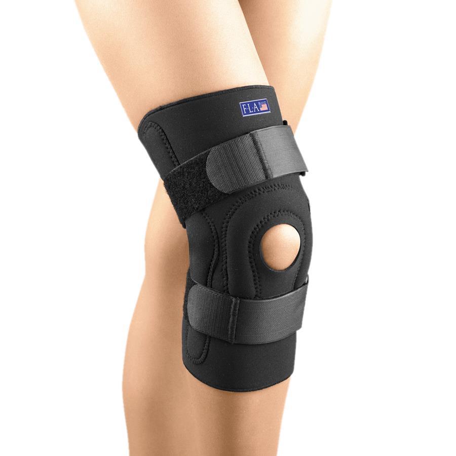 FLA Orthopedics Safe-T-Sport Neoprene Hinged Stabilizing ...
