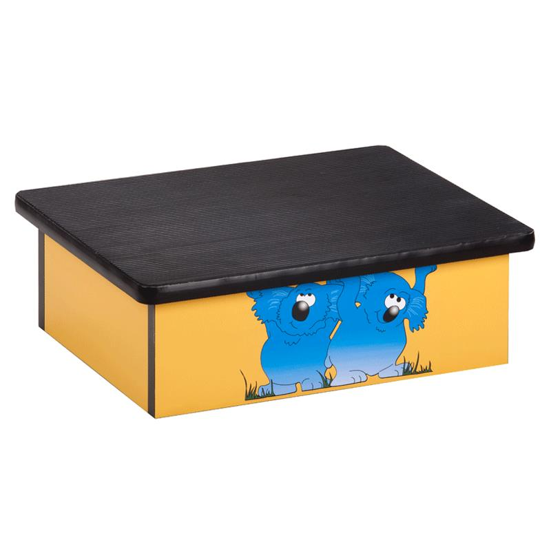Clinton Koala Yellow Laminate Pediatric Step Stool