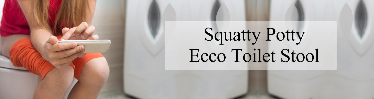 Why use Squatty Potty Ecco Toilet Stool?