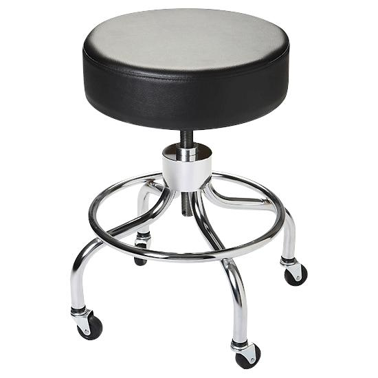 Astounding Flaghouse Adjustable Height Mobile Stool Onthecornerstone Fun Painted Chair Ideas Images Onthecornerstoneorg