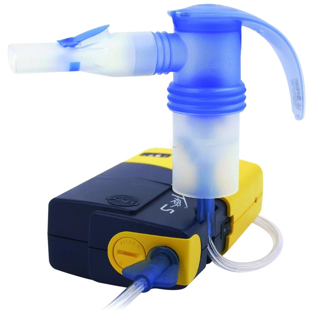 Pari trek s portable compressor nebulizer aerosol system for Porta m