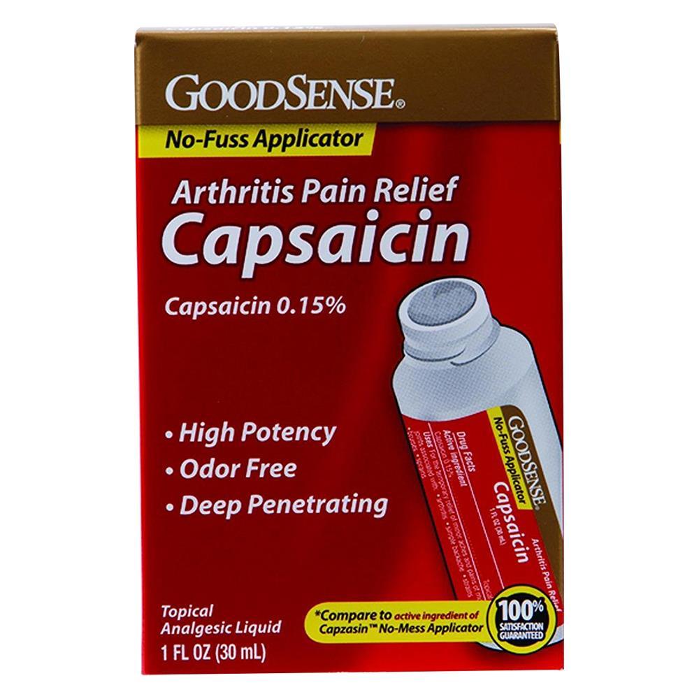 Goodsense Capsaicin Arthritis Pain Relief Roll On Pain