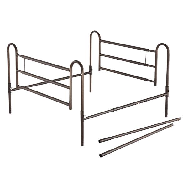Essential Medical Powder Coated Home Bed Rails With