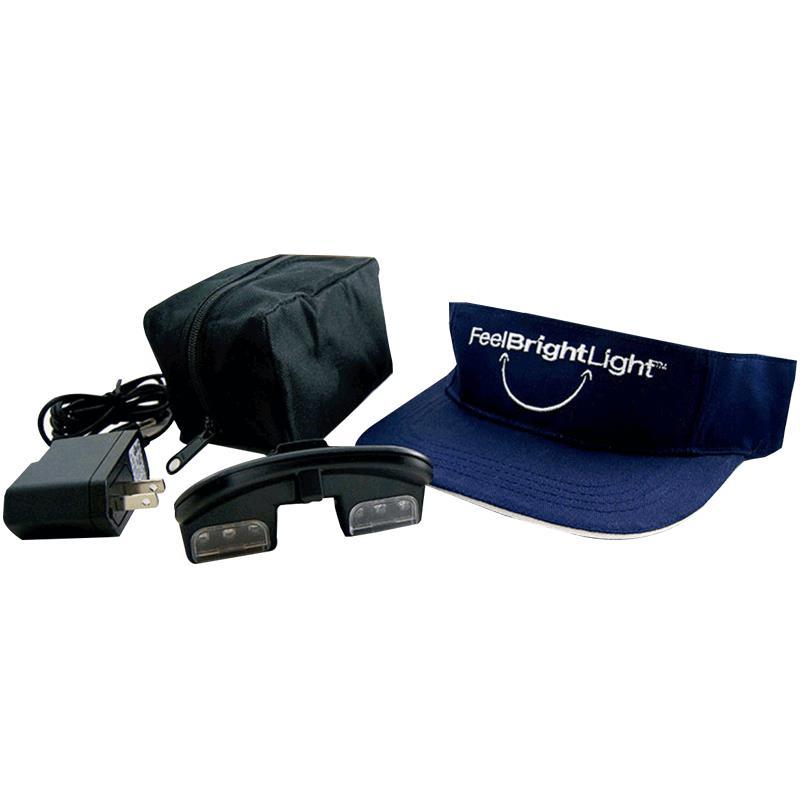 Sunbox Pep Feel Bright Light Visor Light Therapy