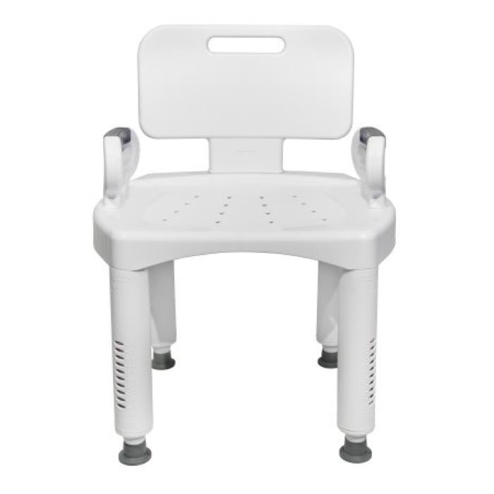 Mckesson Premium Plastic Bath Chair Shower Chairs