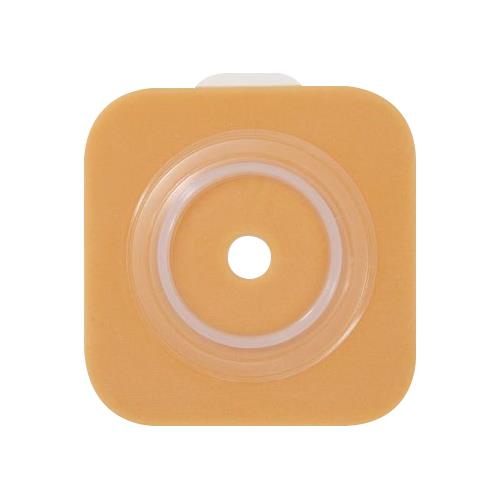 4 Flange Sur-Fit Natura Stomahesive Cut-To-Fit Wafer 6 X 6