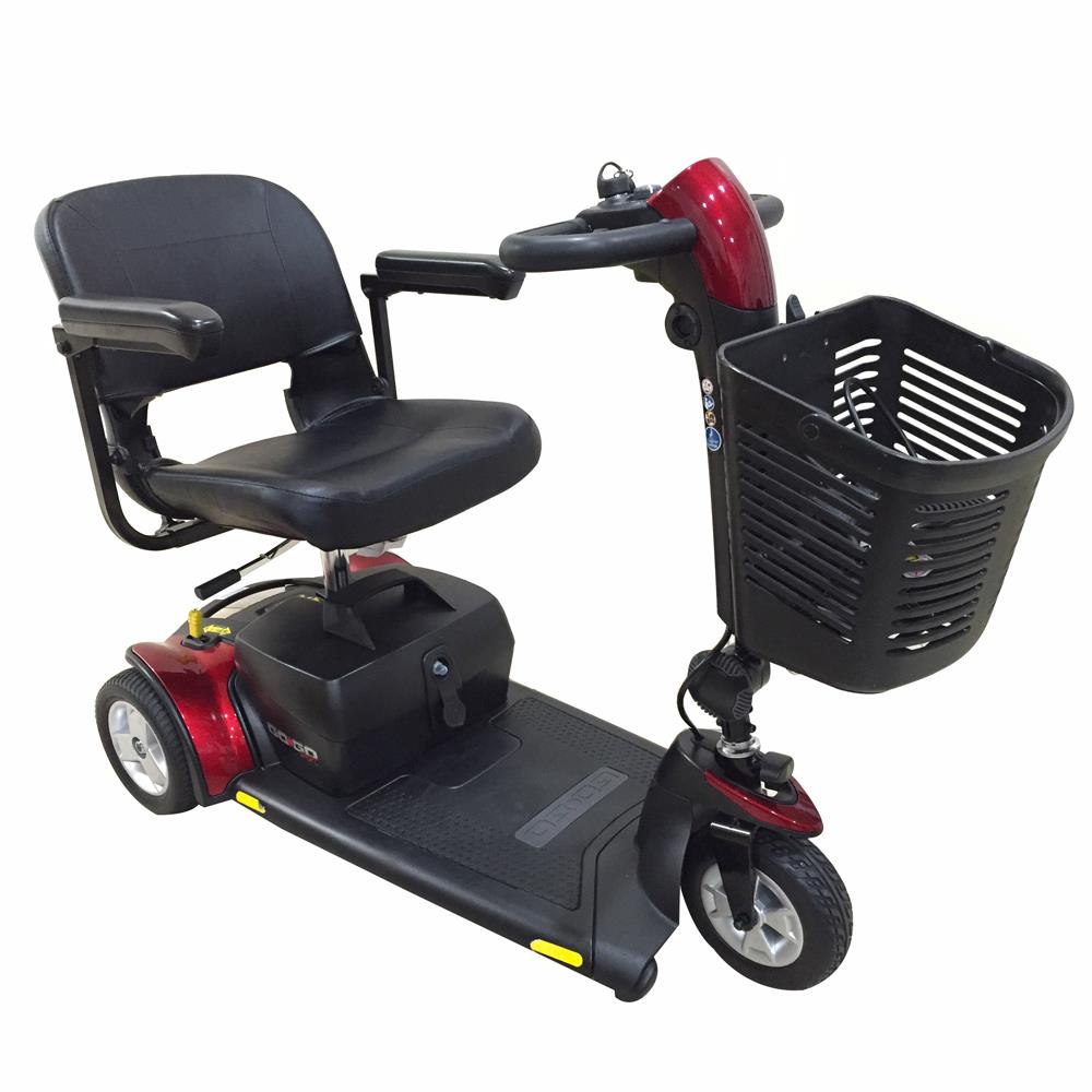 Pride go go sport 3 wheel travel mobility scooter for Go go motorized scooter