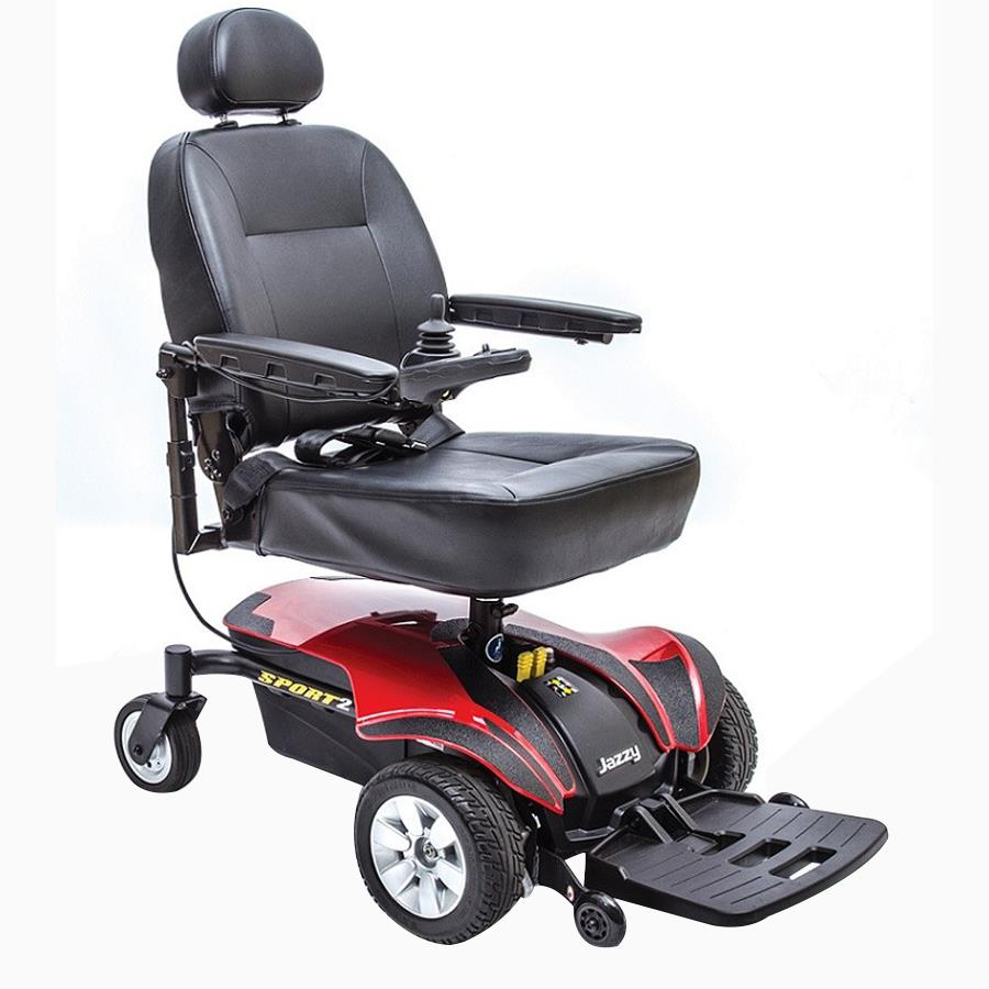 Pride Mobility Scooter >> Pride Jazzy Sport 2 Power Chair