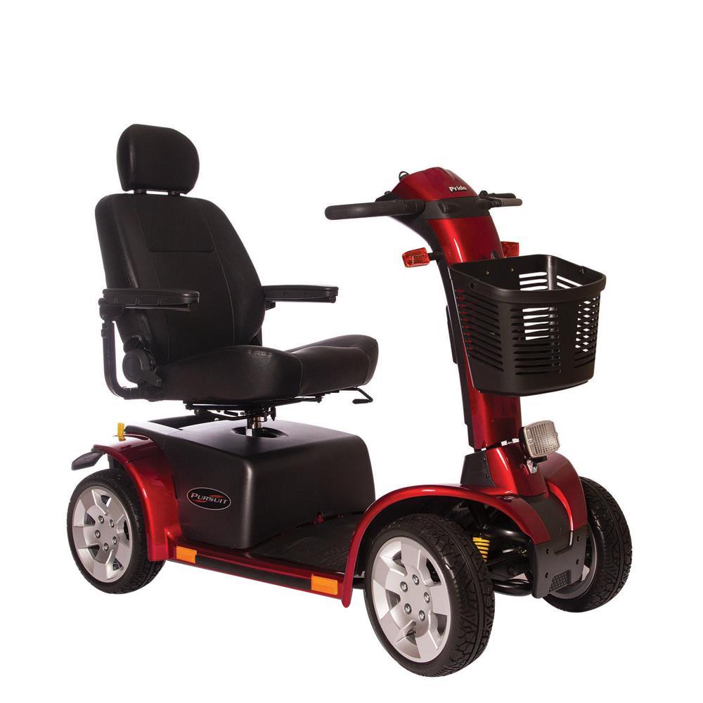 Pride Pursuit Heavy Duty 4 Wheel Scooter