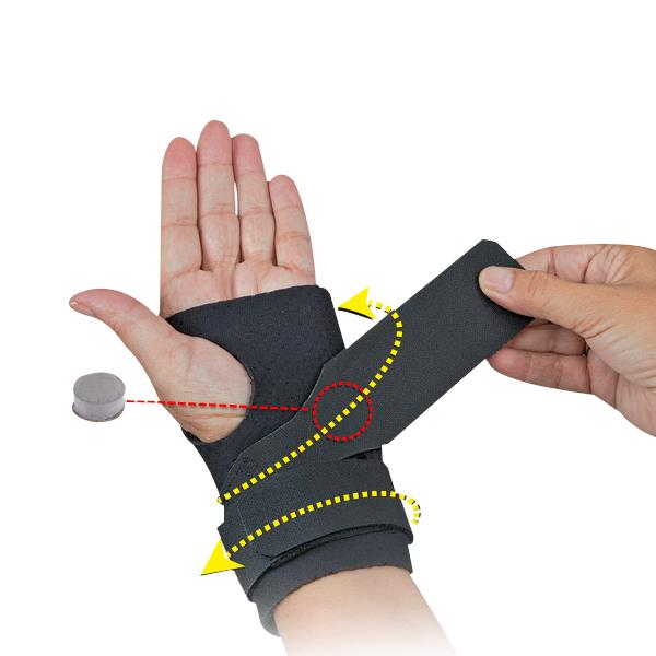 Comfort Cool Neoprene Ulnar Booster Wrist Supports