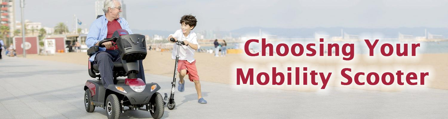 Choosing Your Mobility Scooter