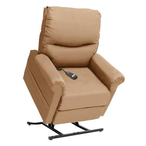 Pride essential 3 position full recline chaise lounger for Chaise quadriceps