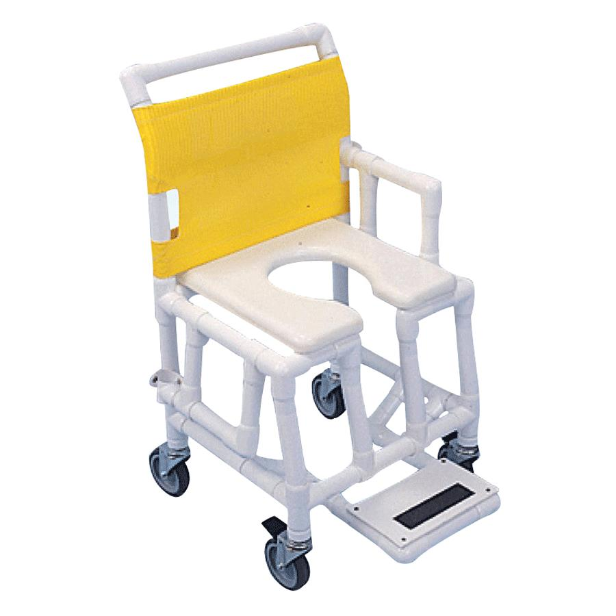 Aqua Creek Lightweight PVC Shower Commode Chair | Shower Chairs