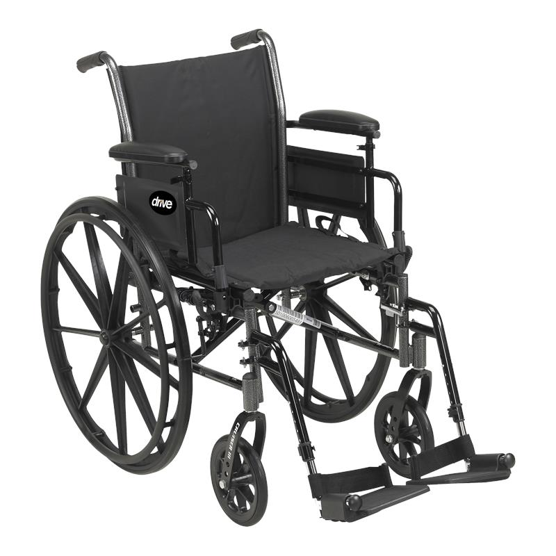 Drive Cruiser III Light Weight Dual Axle Wheelchair
