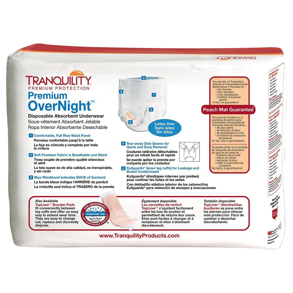 6075388dca08 Tranquility Premium OverNight Disposable Absorbent Underwear · Tranquility  OverNight Disposable Absorbent Underwear ...