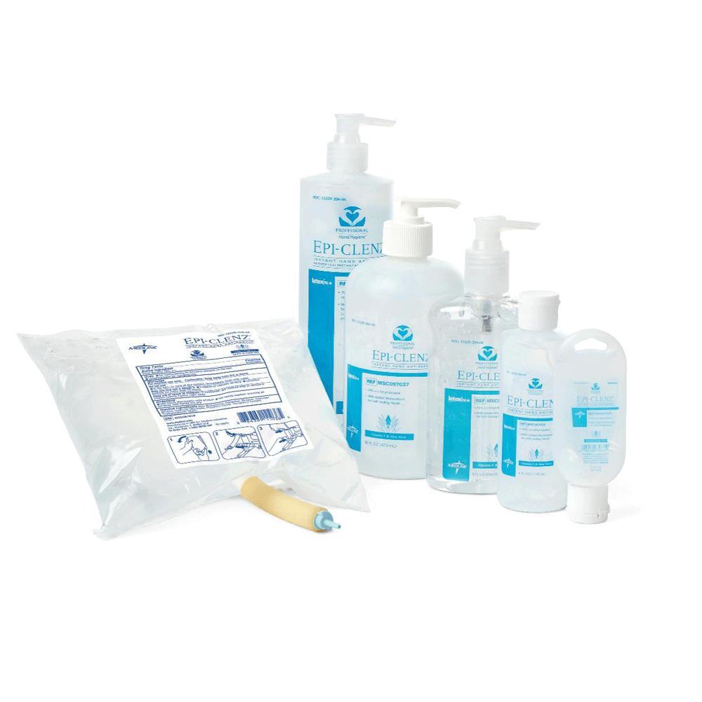Medline Epi Clenz Instant Hand Sanitizer Hand Hygiene