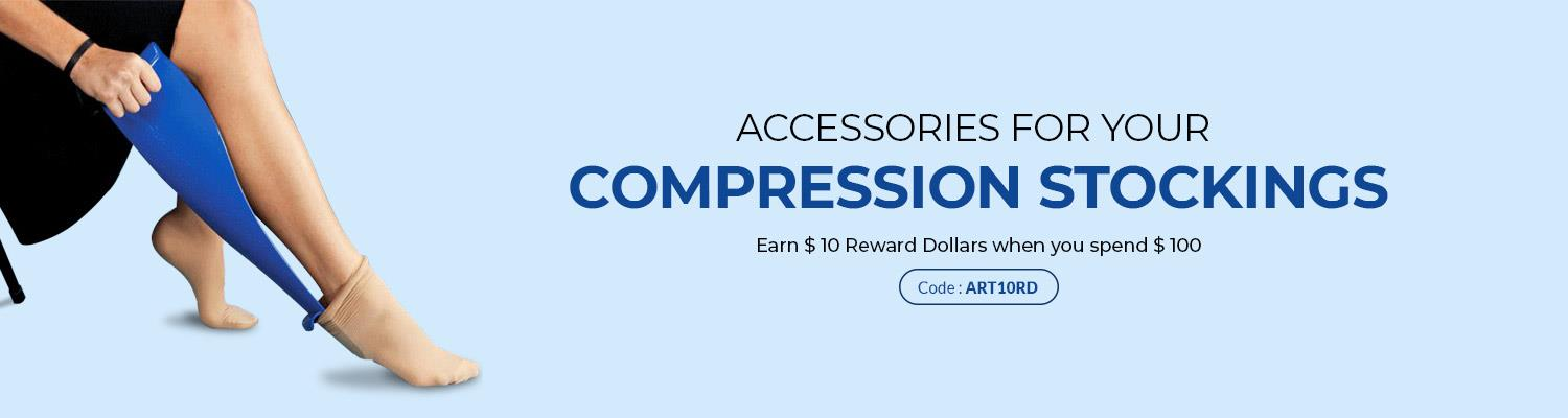 Accessories for Your Compression Stockings