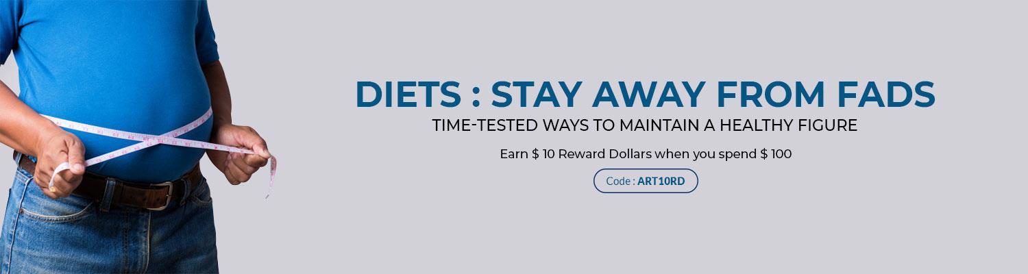 Diets: Stay Away from Fads…Time-Tested Ways to Maintain a Healthy Figure