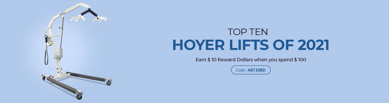 Top Ten Hoyer Lifts of 2021