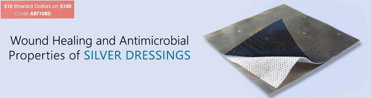Wound Healing and Antimicrobial Properties of Silver Dressings