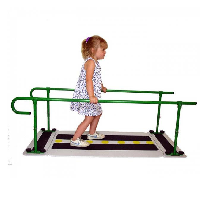 how to use parallel bar to learn walking