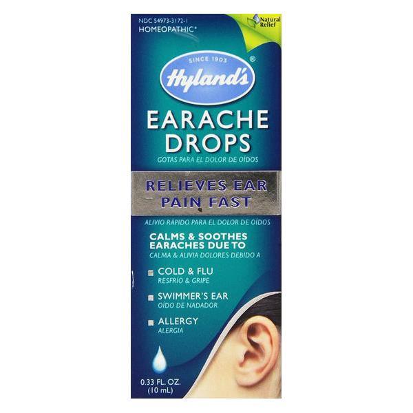 Ear ache drops