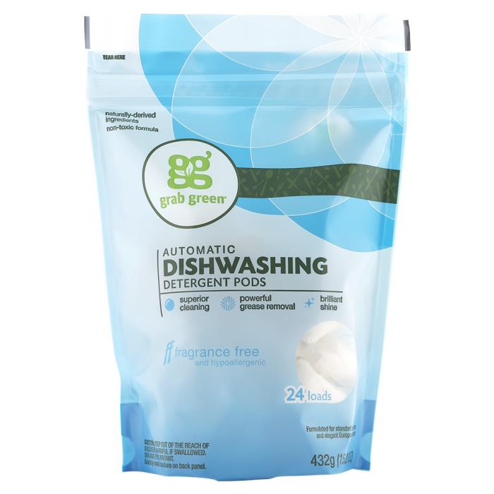 Grab Green Fragrance-Free Automatic Dishwasher Detergent