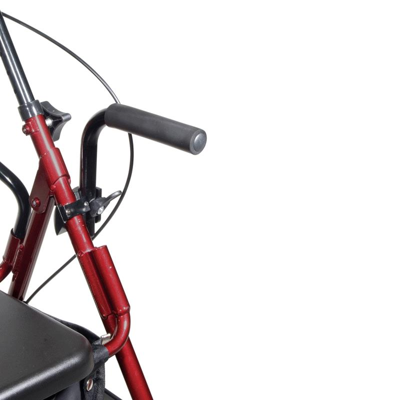 Drive Duet Transport Chair And Rollator Transport Chair