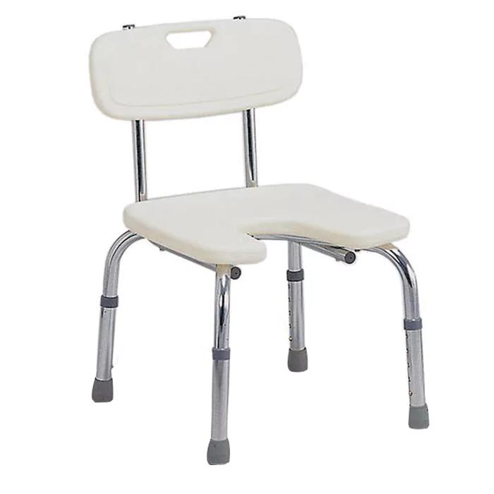 Mabis DMI Hygienic Bath Seat with Backrest | Shower Chairs