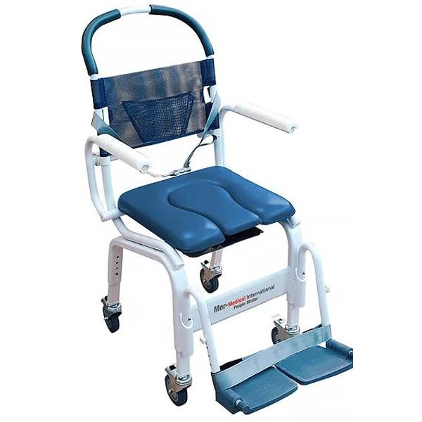 Mor-Medical Euro Deluxe Rehab Shower Commode Chair | Shower Chairs