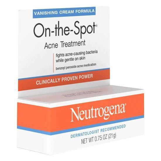 Neutrogena On The Spot Acne Treatment Natural Medicines
