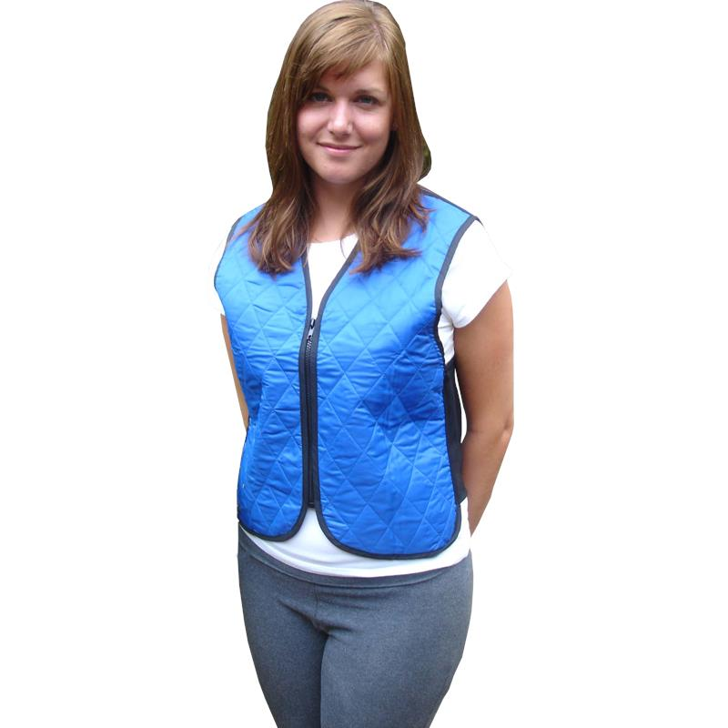 Evaporative Cooling Clothing : Polar evaporative cooling vest cold therapy and packs
