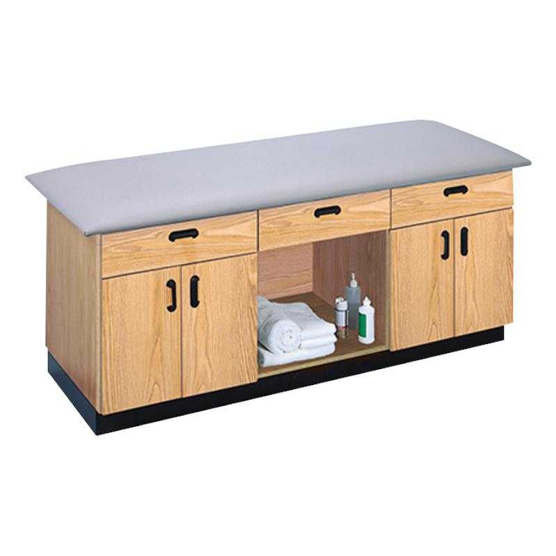 All Purpose Cabinets : Hausmann all purpose treatment table with drawer and