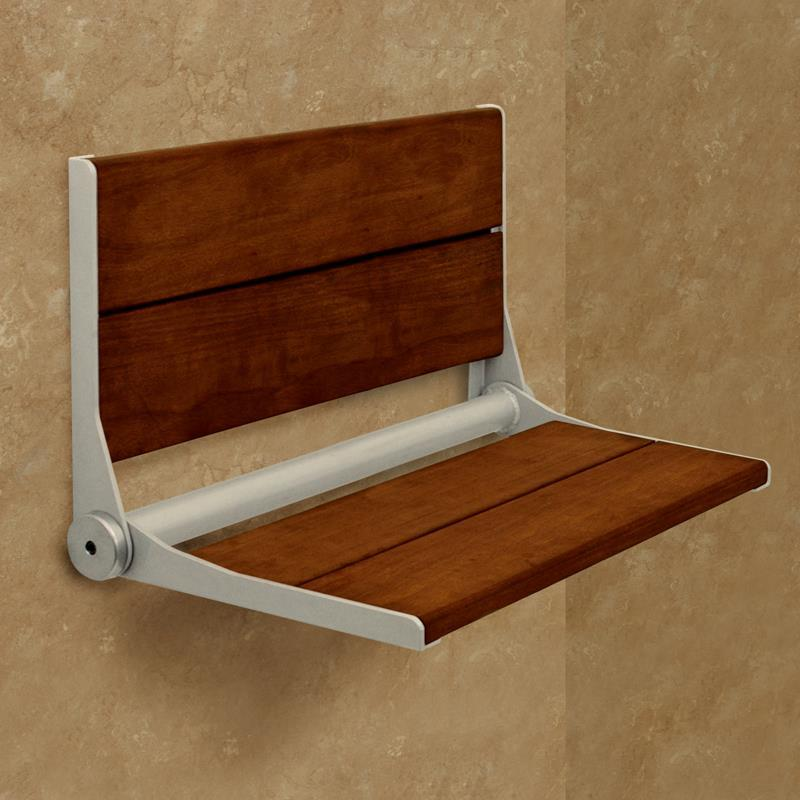 HealthCraft Invisia Serena Wall Mounted Shower Seat | Shower Chairs