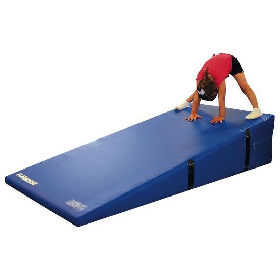 Flaghouse incline mat exercise mats for Gross motor skills equipment