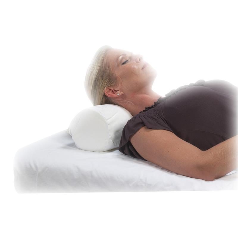 l white cervical pillow bilt polyfill rite roll neck p
