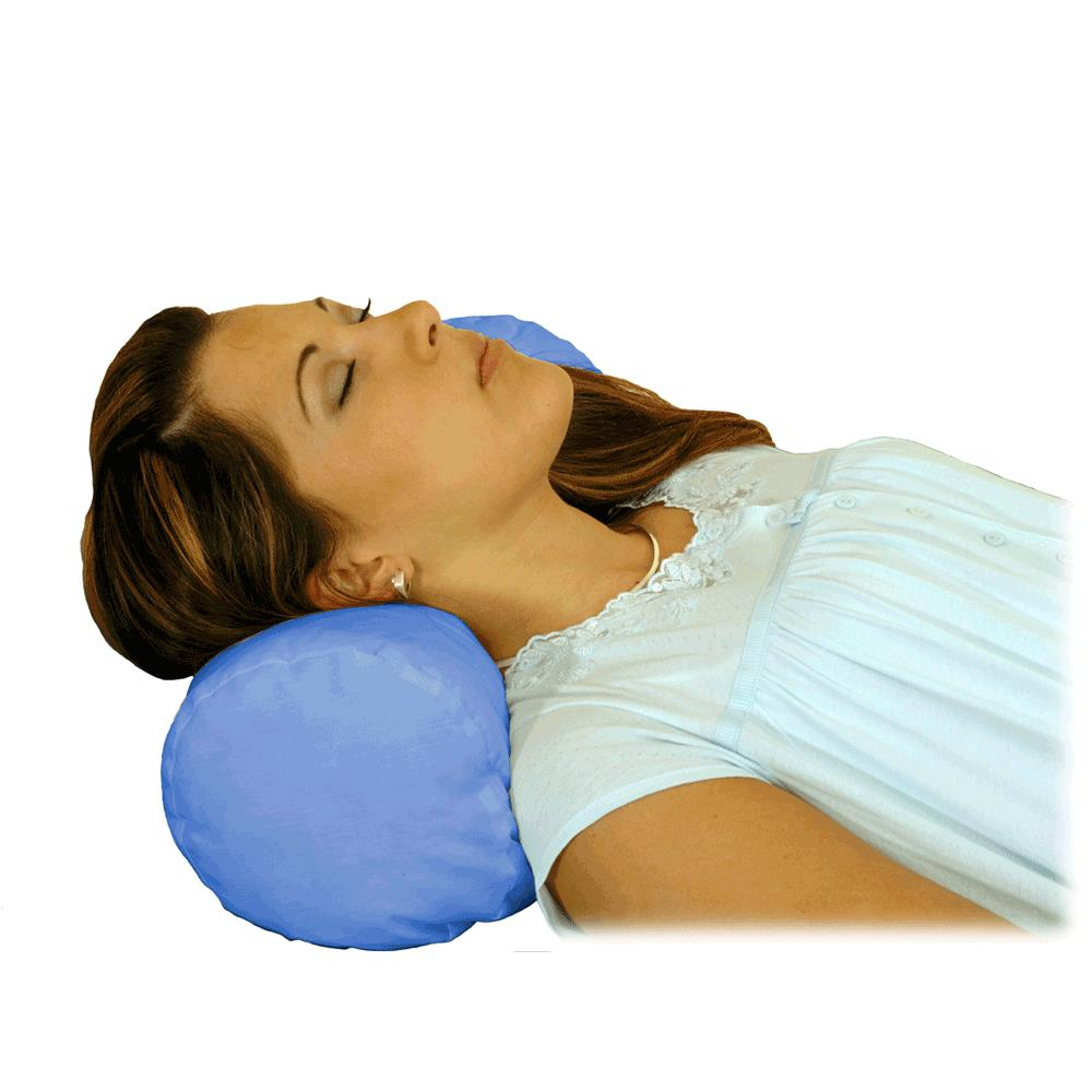 Essential Medical Round Cervical Pillow
