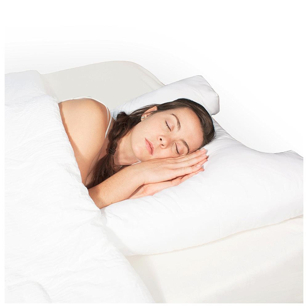 Hudson medical science of sleep side support pillow The more pillows you sleep with