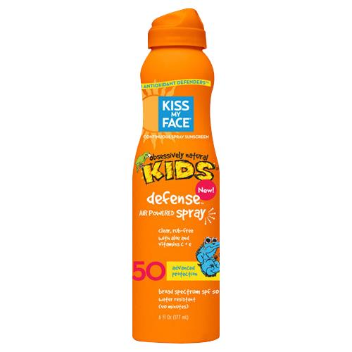 Kiss my face sunscreen spray