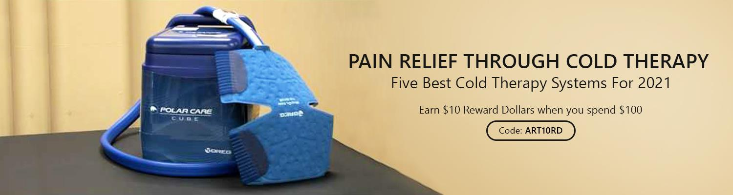 Pain Relief Through Cold - Five Best Cold Therapy Systems for 2021