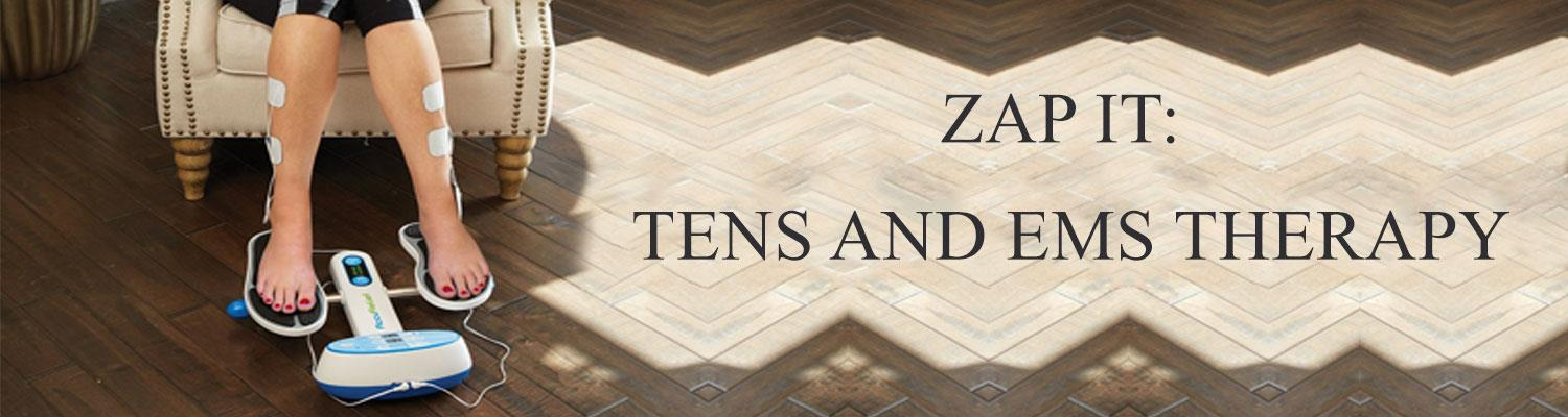 Zap It: TENS and EMS Therapy