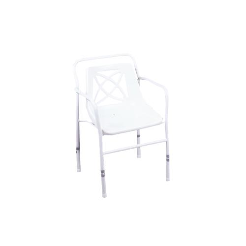 Homecraft Shower Chair With Curved Plastic Seat