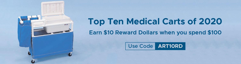 Top Ten Medical Carts of 2020