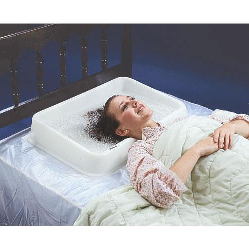 Maddak Shampoo Rinse Basin Bedside Bathing