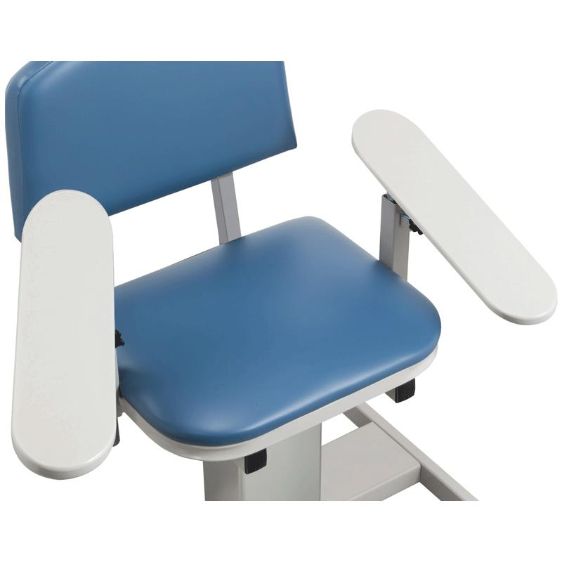 Cool Clinton Power Series Blood Drawing Chair With Padded Flip Arm And Drawer Inzonedesignstudio Interior Chair Design Inzonedesignstudiocom