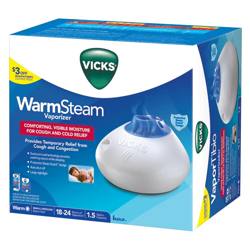kaz vicks warm steam vaporizer humidifier rh healthproductsforyou com vicks warm steam vaporizer instructions vicks personal steam inhaler user guide