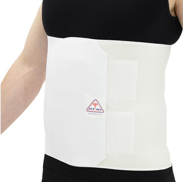 elastic abdominal binder for weight loss