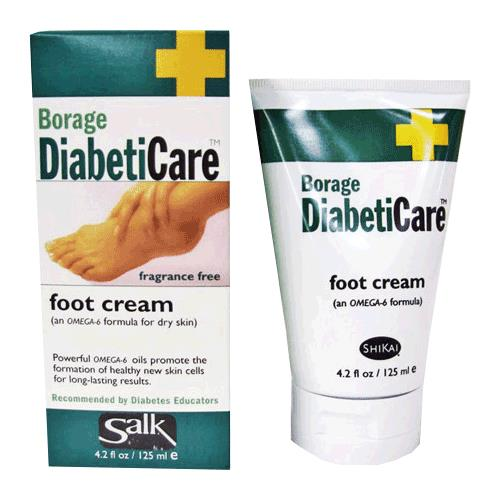 Salk Borage Diabeticare Foot Cream Diabetes Foot Care